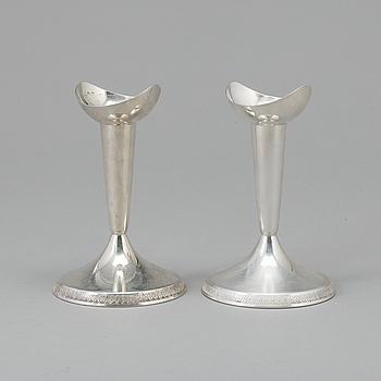 LJUSSTAKAR, silver, GAB, 1962, tot vikt 156 gram.