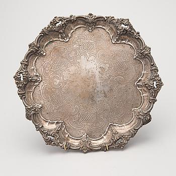 BRICKA, silver, London 1862, möjligen Horace Woodward.