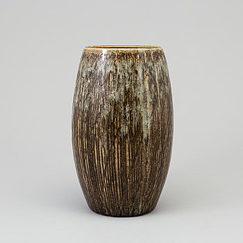 CARL-HARRY STÅLHANE, A stoneware vase by CARL-HARRY STÅLHANE, signed och dated - 59.