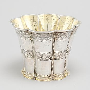 MARGARETABÄGARE, silver, svenska importstämplar, 1900-talets andra kvartal.