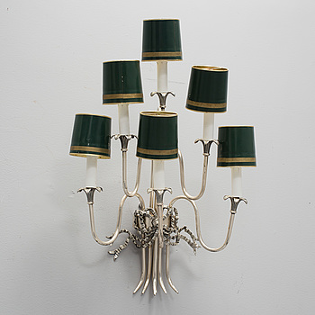 a gustavian style wall sconce from the 20th century.