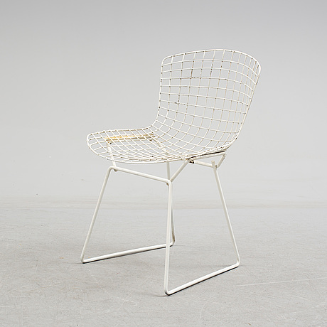 "A harry bertoia, ""side chair"