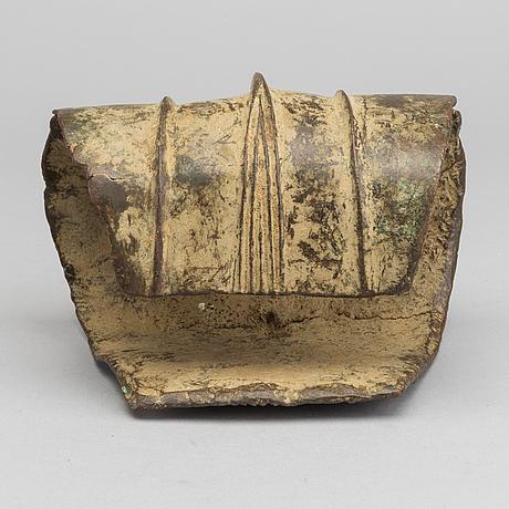 Betalningsmedel / ankelring, brons, ekonda, dr. kongo.
