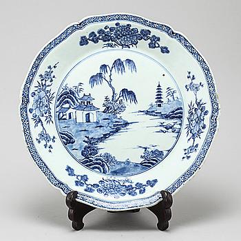 FAT, porslin, Qing-dynastin, Qianlong (1736-95).