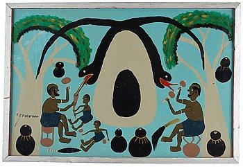 403. Edward Saidi Tingatinga, Untitled.