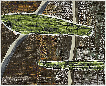 ANDREAS ERIKSSON, signed Andreas Eriksson and dated 2004-2009 on verso. Acrylic and oil on canvas.