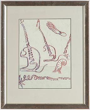"""MAX ERNST, litografi, ur  """"Le Surréalisme"""", numéro spécial de XXe siècle""""."""