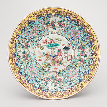 FAT, porslin, Kina 1800-talets senare hälft.
