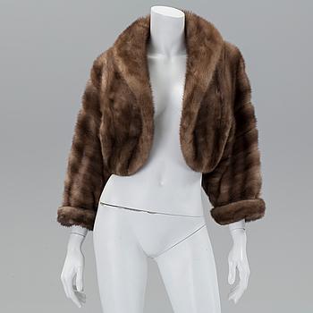 A mink jacket, size app 38/40.