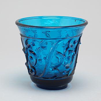 EDVIN OLLERS, vas, glas, Elme Glasbruk.
