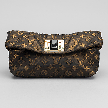 "LOUIS VUITTON, Clutch. ""Altair, monogram, Jacquard""."