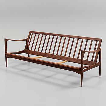 """IB KOFOD LARSEN, soffa, """"Kandidaten"""", OPE möbler, 1960-tal."""