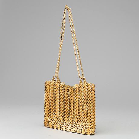 "Paco rabanne, ""the metallic handbag"", väska, 1960 tal"