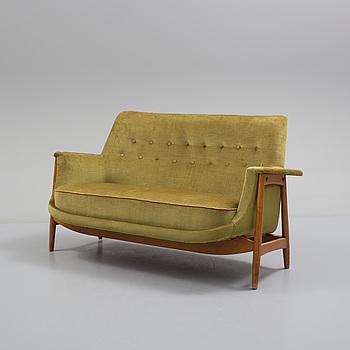 A mid 20th century sofa 'President' sofa by Ardebo, Lerum, Sweden.
