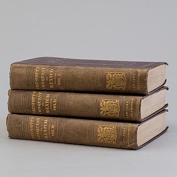 BÖCKER, William H. Prescott, Mexikos historia, 1843.
