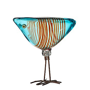 "35. Alessandro Pianon, a ""Pulcino"" glass bird, Vistosi, Italy 1960's."