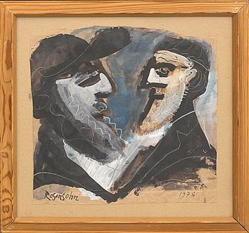 LENNART ROSENSOHN, akvarell/gouche, signerad och daterad 1978.