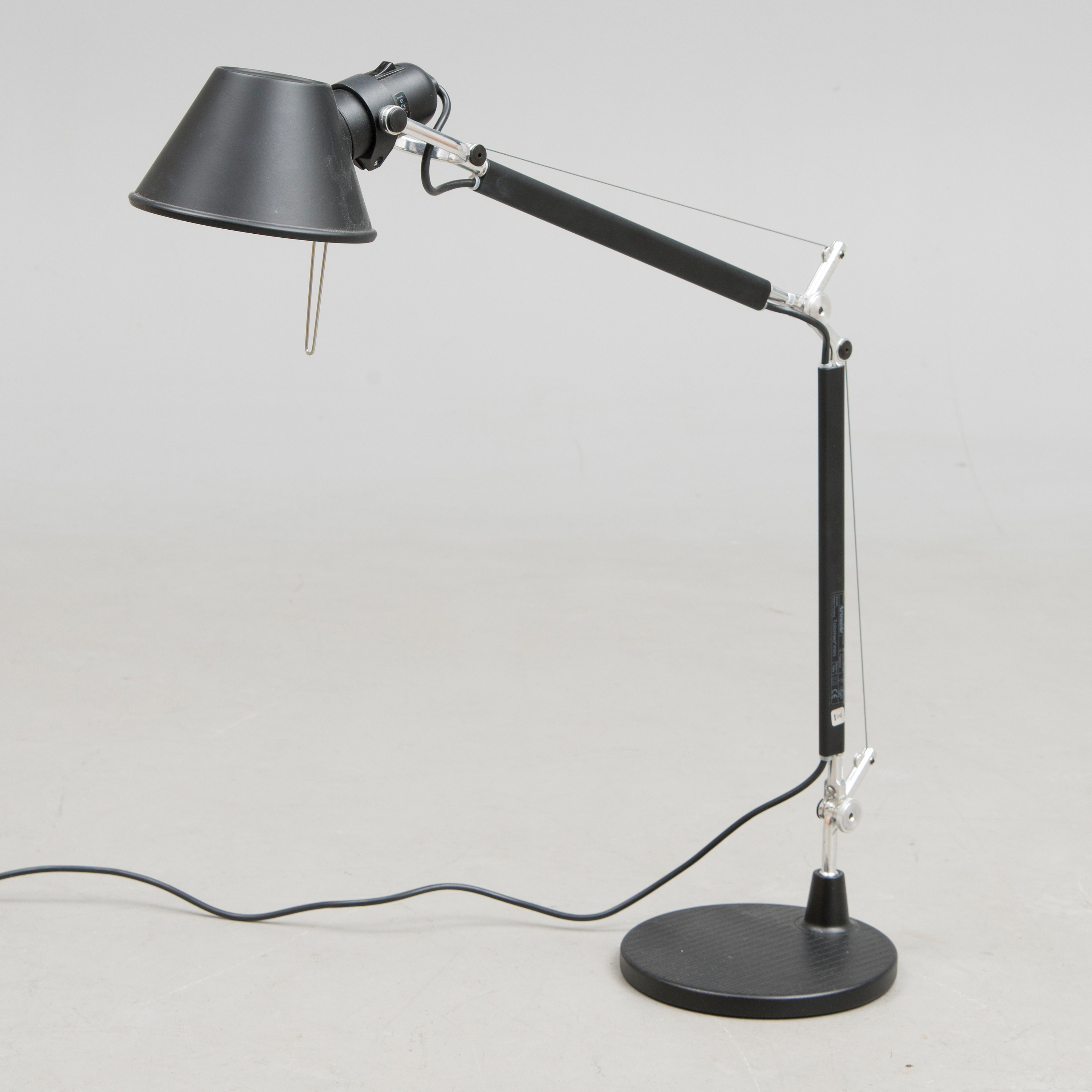 A Tolomeo Mini Table Lamp By Michele De Lucchi And Giancarlo