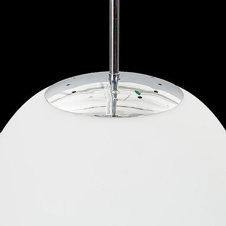 A fontana arte suspension lamp. 1990s.