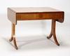 Klaffbord, empire, 1800-talets första hälft.