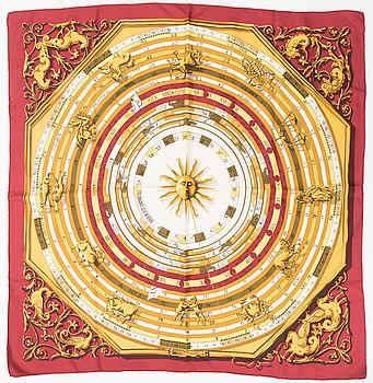 """HERMÈS, SCARF, """"Astrologie""""."""