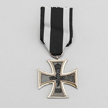 JÄRNKORSET. Wilhelminska kejsardömet Tyskland 1914-18.