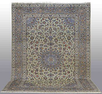 A CARPET, Kashan, around 350 x 240 cm.