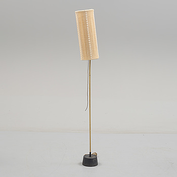 A brass standard light from Luco, second half of the 20th Century.