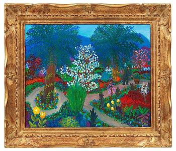 "6. LENNART JIRLOW, SÅLD ""Trädgård, Provence""."