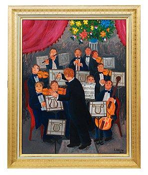 """13. Lennart Jirlow, """"Orkestern""""."""