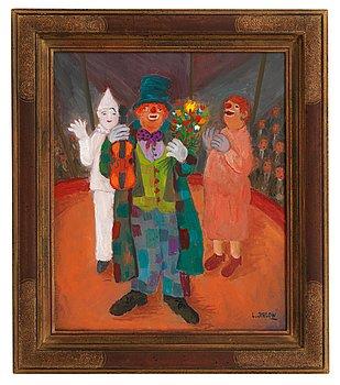 "14. Lennart Jirlow, ""Tre clowner""."