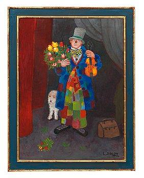 """17. Lennart Jirlow, """"Clown tackar för applåderna""""."""