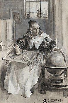 """312. Carl Larsson, """"Från 30-åriga krigets dagar""""."""