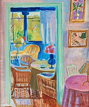 319. Isaac Grünewald, Interior.