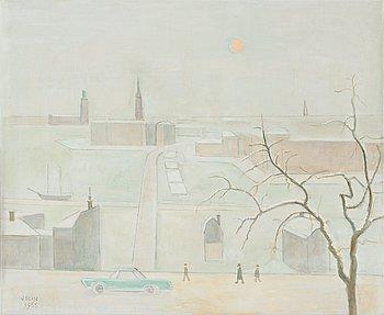 323. Einar Jolin, Winter scene from Stockholm.