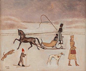 322. Einar Jolin, Sleigh Ride.