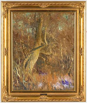 BRUNO LILJEFORS, BRUNO LILJEFORS, oil on canvas, signed and dated 1918.