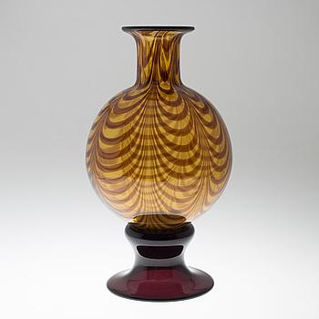 VAS, glas, Italien, 1900-talets andra hälft.