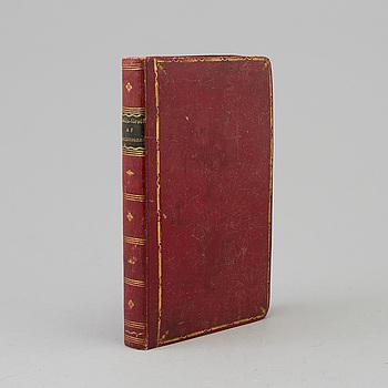A BOOK, Anna Maria Lenngren: Skalde-försök. Andra upplagan.Stockholm 1825. xxiv + 264 sid.
