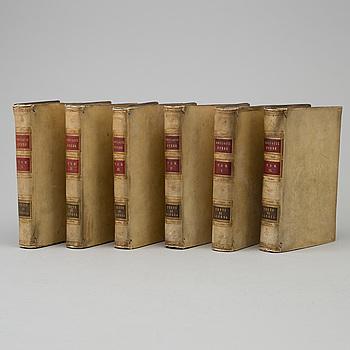 BOOKS, BOK, Boccaccio: Delle Opere di M. Giovanni Boccacci cittadino fiorentino. 1-6.