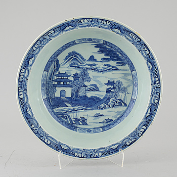 SKÅLFAT, porslin, Kina, Jiaqing (1796-1820).