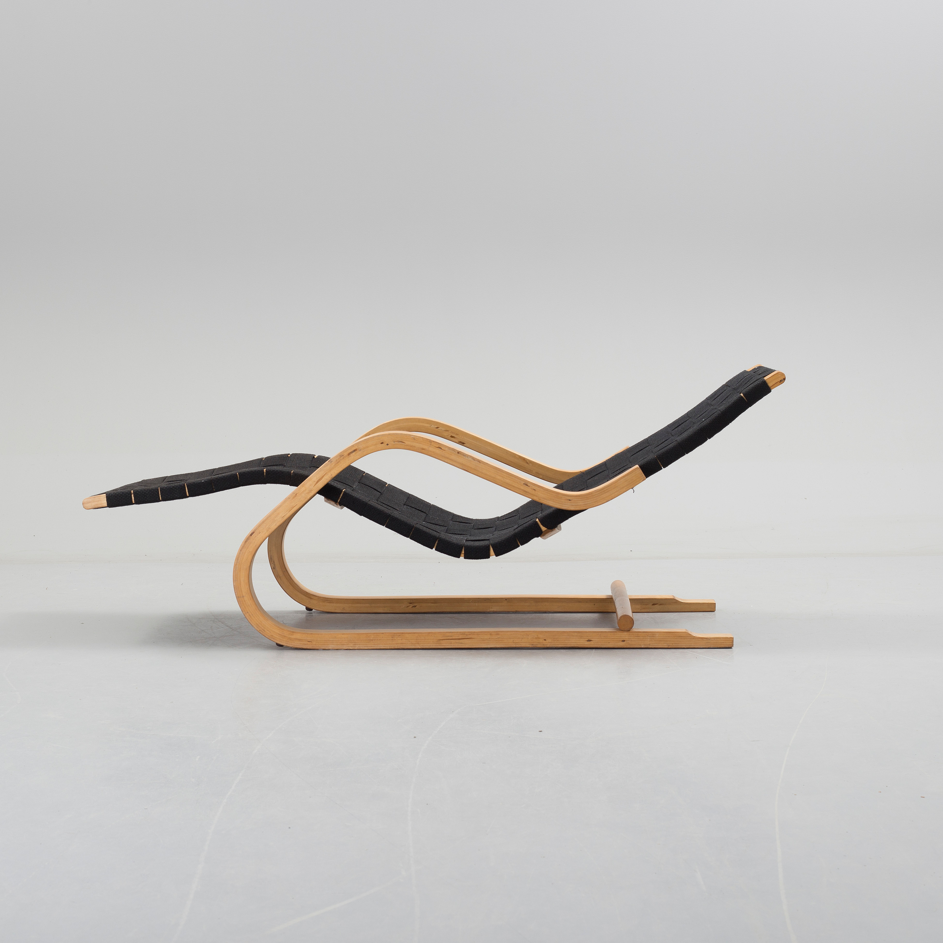 Pleasing An 1940S Alvar Aalto Model 39 Lounge Chair Marked Aalto Pabps2019 Chair Design Images Pabps2019Com