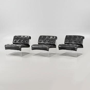"VERNER PANTON, three ""Pantonova Chairs""."