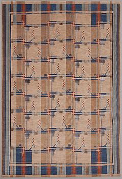 A woollen carpet, Nepal, design 1930s. Circa 203x302 cm.