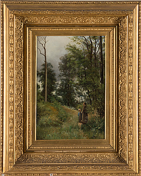 ALFRED WAHLBERG, ALFRED WAHLBERG, oil on canvas, signed and dated -82.