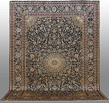 A CARPET, Kashmar, around 395 x295 cm.