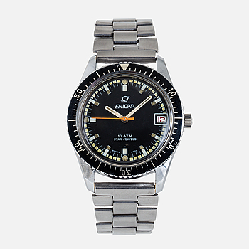 ENICAR, Sherpa 300, armbandsur, 35,5 mm.