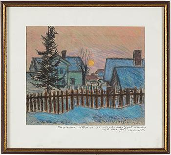 ROLAND SVENSSON, ROLAND SVENSSON, a pastel, dated -40.