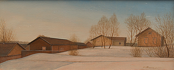 RISTO VILHUNEN, RISTO VILHUNEN, oil on canvas, laid on board, signed and dated 2010.