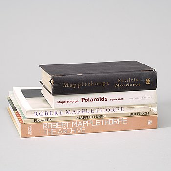 Photo books, 5, Robert Mapplethorpe.